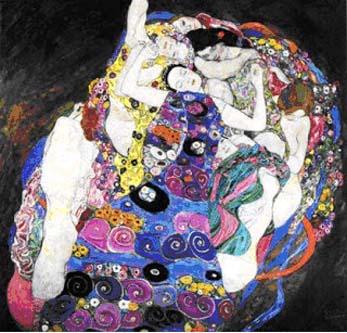 Fotografía: Reproducción del cuadro La Virgen, de Gustav Klimt, en Google Imágenes.