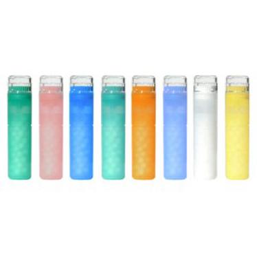 tubos granulos traslucidos